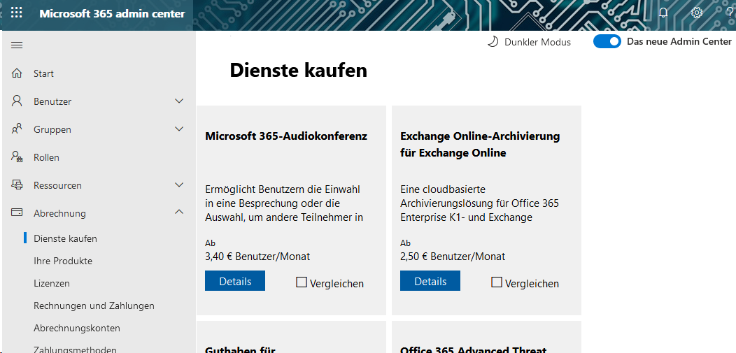 Microsoft 365 Audiokonferenz